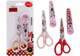 TESOURA ESCOLAR MINNIE MOUSE C/ PROTETOR
